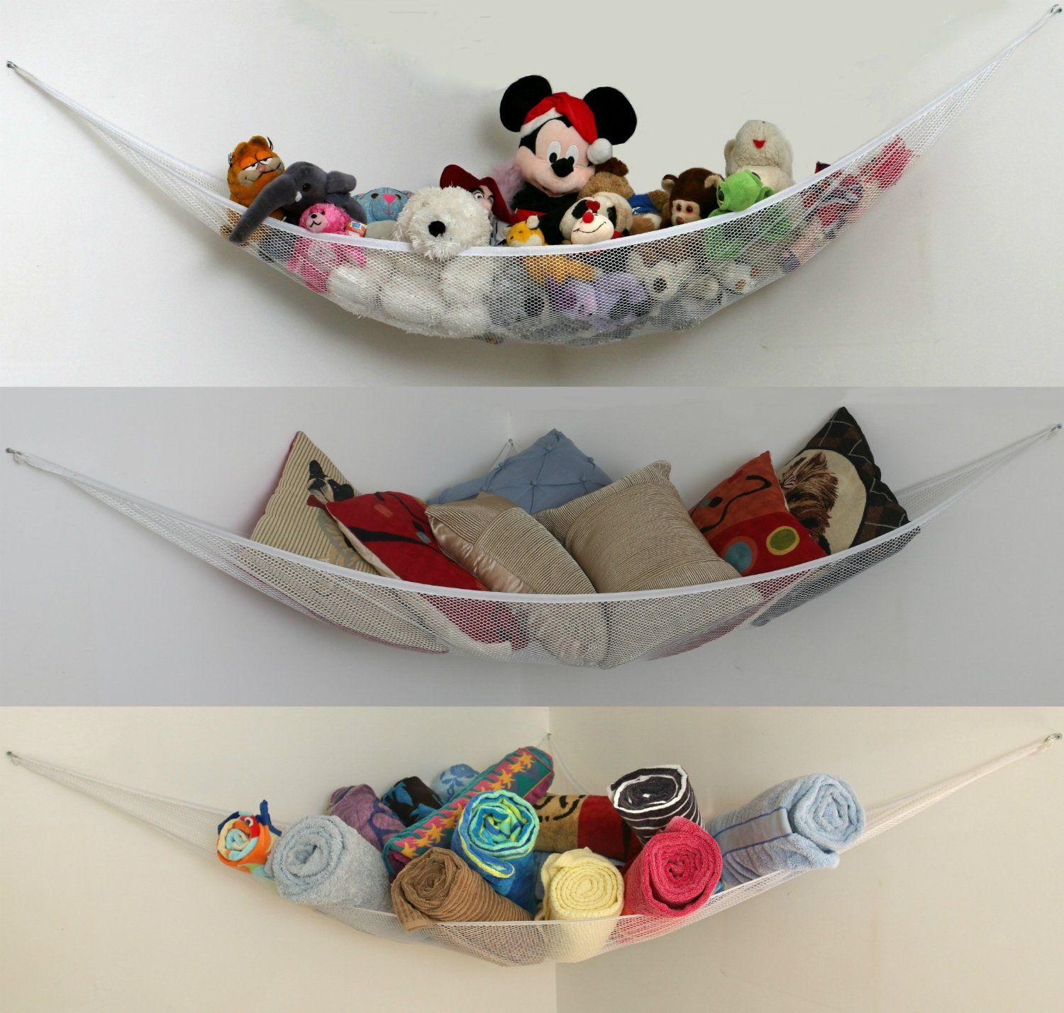 Xl Toy Storage Hammock Also In L Size For Kids