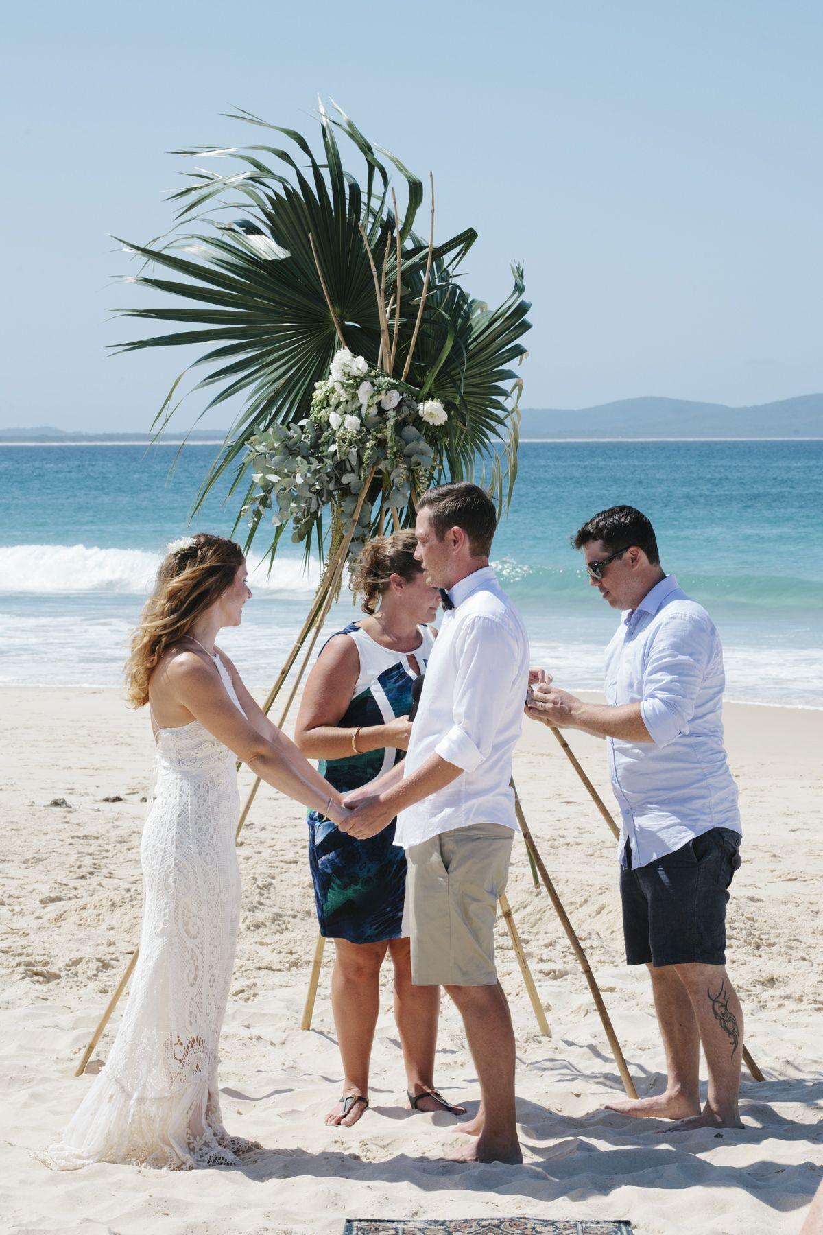 Karin & Daniel's Relaxed Beachside Fiesta Wedding Beach