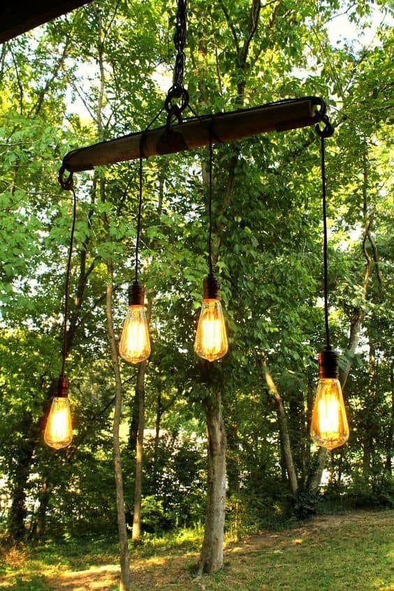 23 Shattering Beautiful DIY Rustic Lighting Fixtures to Pursue images