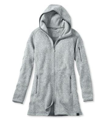 adb42b268 L.L.Bean Sweater Fleece Coat