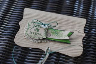 Melanie Makes: Colorado Inspired Wedding Gift Card Holder