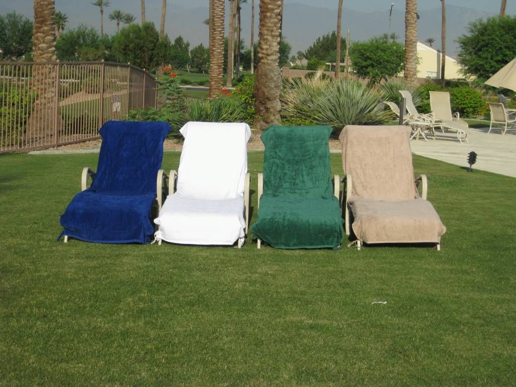 Plush Lounge Chair Covers Are A Handy Accessory Cheap Patio