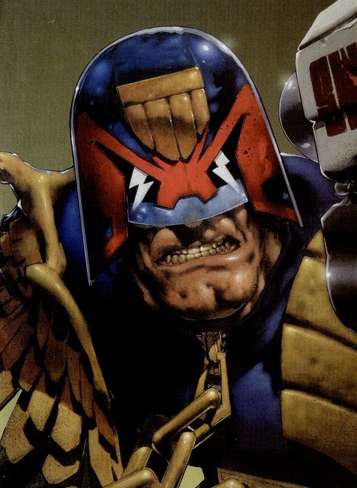 "comixnation: ""Judge Dredd """
