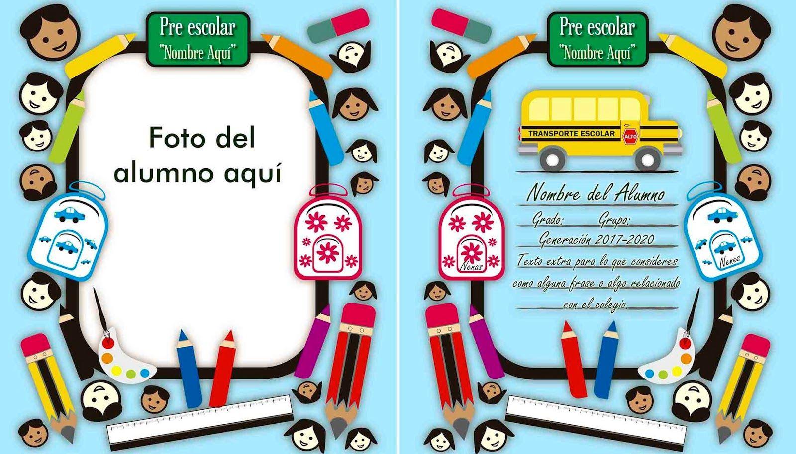 Folder Para Foto De Graduaci&243n Preescolar Plantillas Photoshop ...