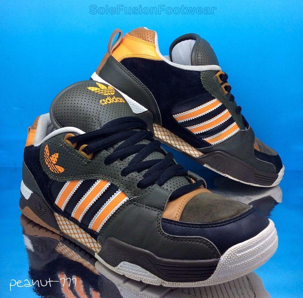 Adidas Uomo Orange Collwood Zx Formatori Brown / Orange Uomo Sz St Pattinare 4bc63f
