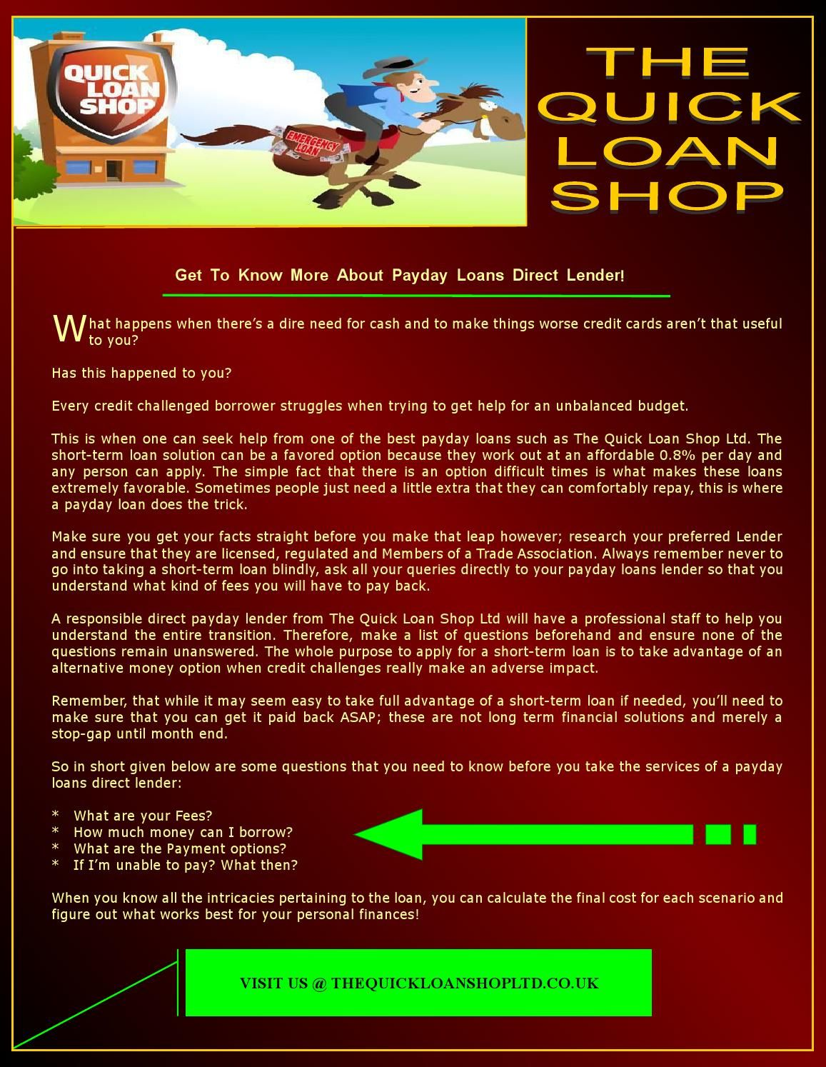 Cash club loans image 1