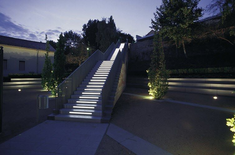 Recessed Exterior Floor Light For Public Space Palermo 220 Hess Ag
