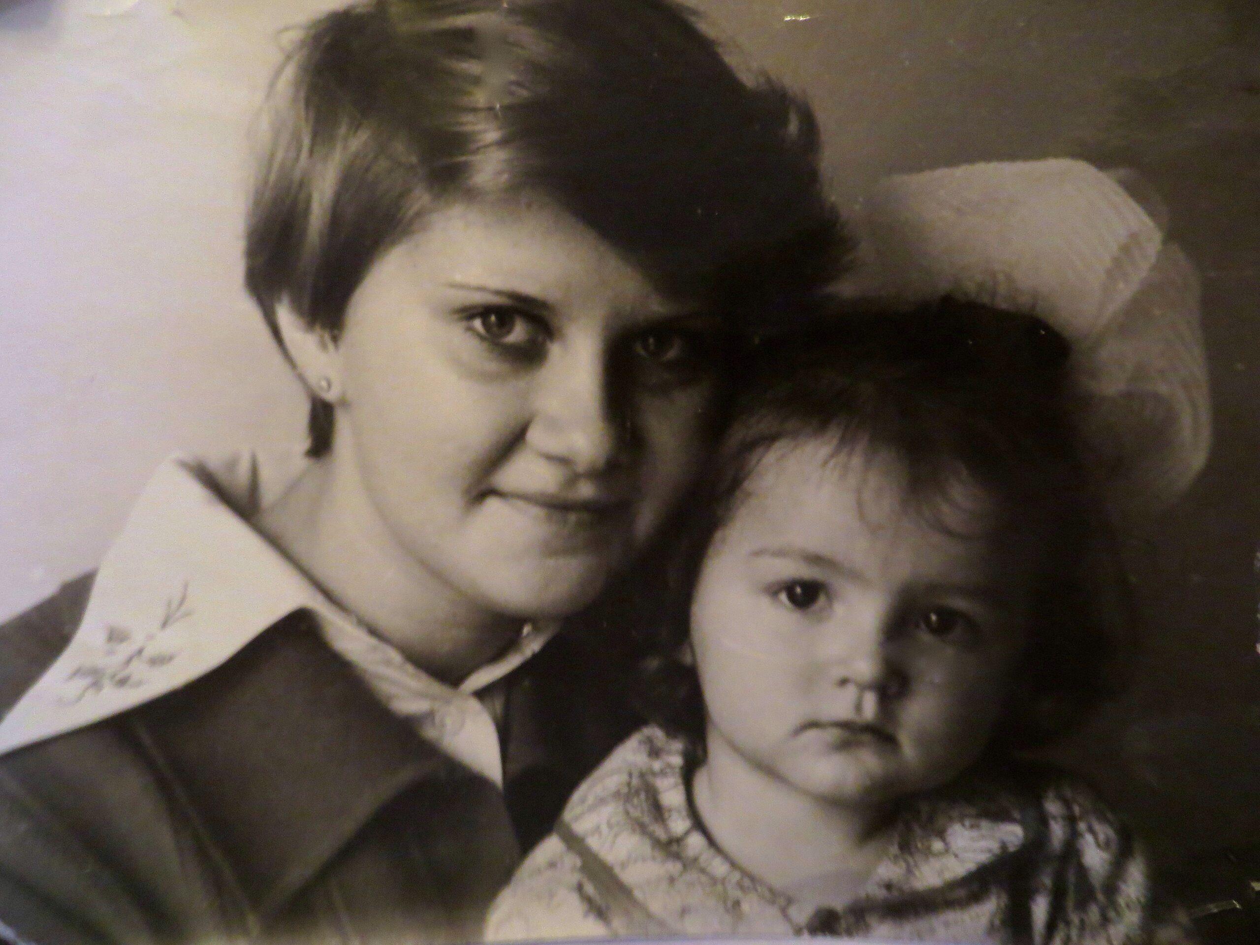 Me with Olga