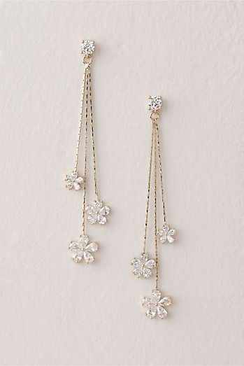 Pearl Blooms Earrings | Anthropologie