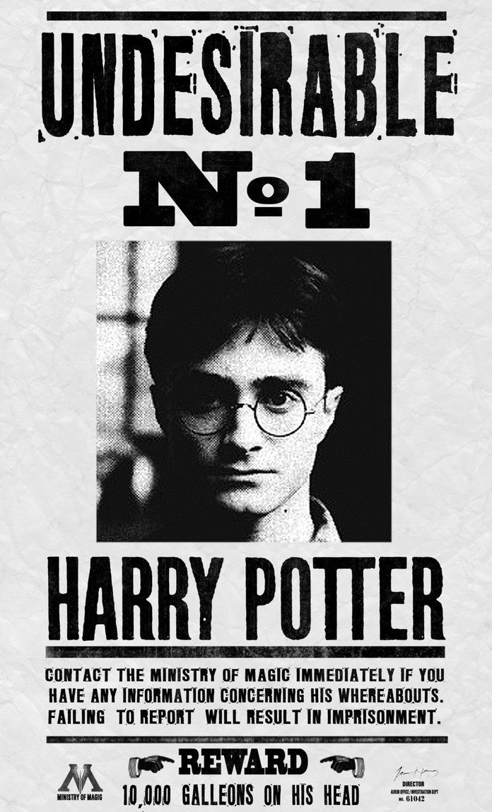 Harry Potter : Undesirable No 1 by Kem2000 on DeviantArt
