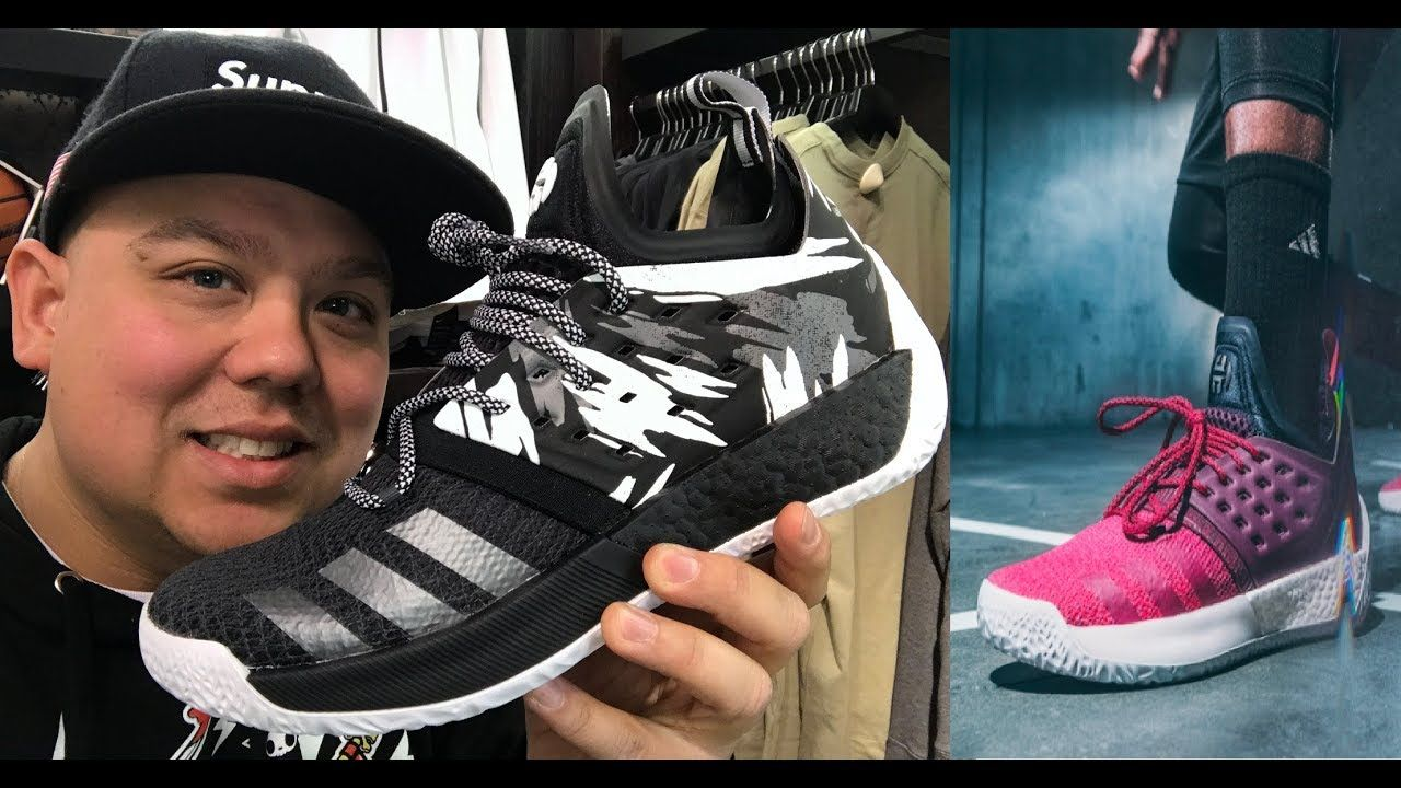 detailed pictures cb526 6bc02 ADIDAS JAMES HARDEN VOL 2 BOOST REVIEW ON FEET - WATCH BEFORE YOU BUY   JamesHarden  adidasHoops  sneakers  mensfashion