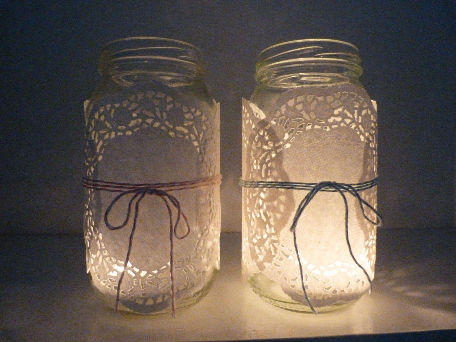 Candle Jar Decorating Ideas Beachcomber Baker's Twine Diy  Weddings & Wedding Showers