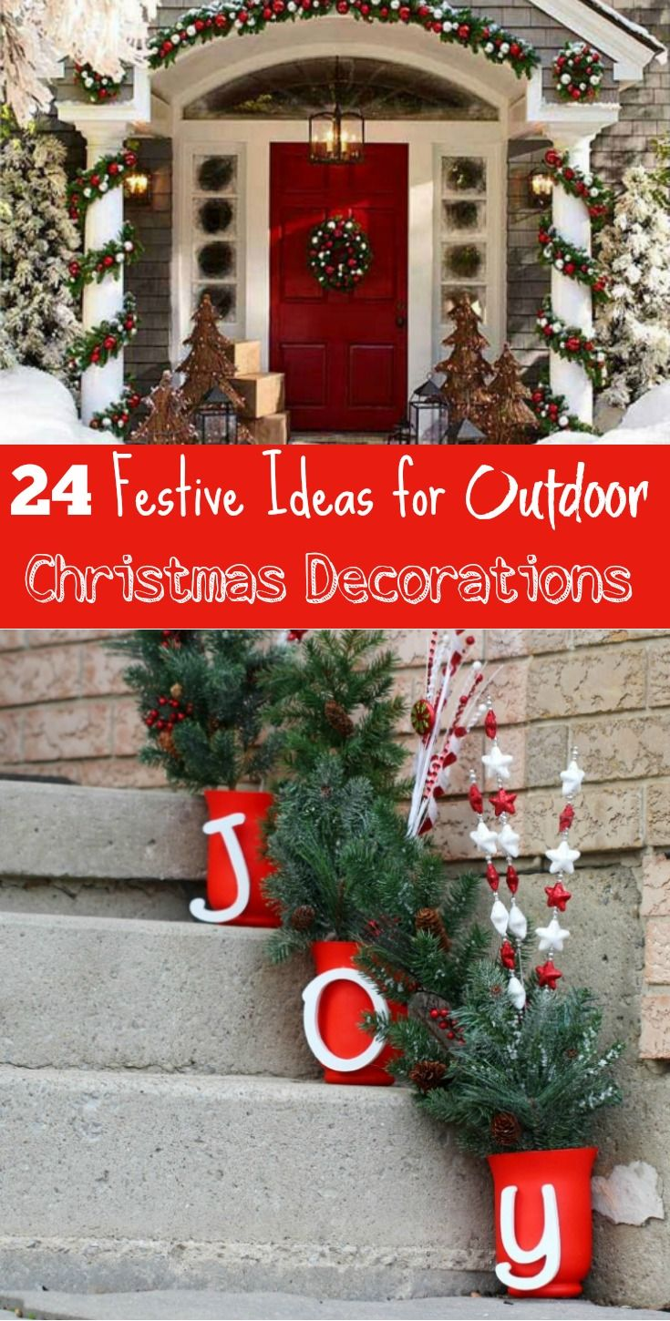 festive ideas for outdoor christmas decorations do it yourself