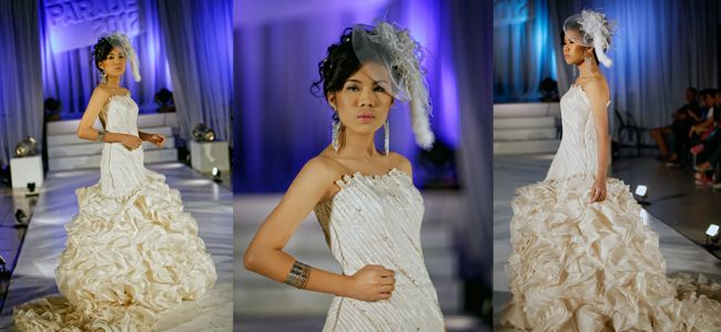 Ysabelles Bridal At A Fashion Show In Bacolod City