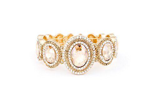A3530 Gold Crystal and Rhinstoned Bracelet Neda http://www.amazon.com/dp/B016FWNXWI/ref=cm_sw_r_pi_dp_PQaKwb13B0WJG