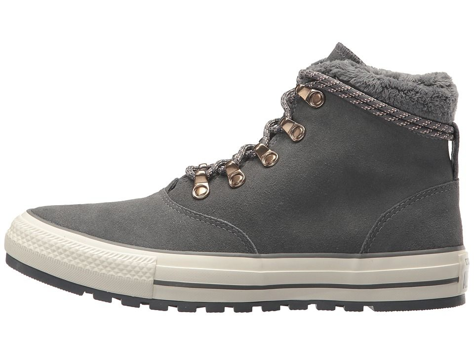 b2a854a931e550 Converse Chuck Taylor(r) All Star(r) Ember Boot Suede Faux Fur Hi Women s  Lace-up Boots Thunder Thunder Egret