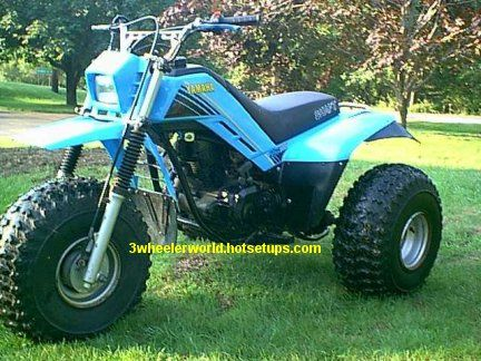 Used Honda Four Wheelers For Sale >> Yamaha 225DX Three Wheeler | Moto bike, Dirt bikes, 4 wheelers