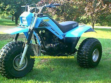 yamaha 225dx three wheeler yamaha moto bike 4. Black Bedroom Furniture Sets. Home Design Ideas