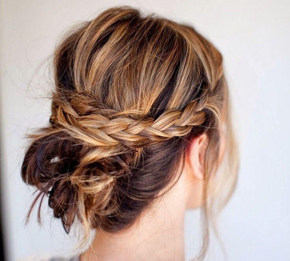 beautiful u effortless updo hairstyle tutorials for medium hair
