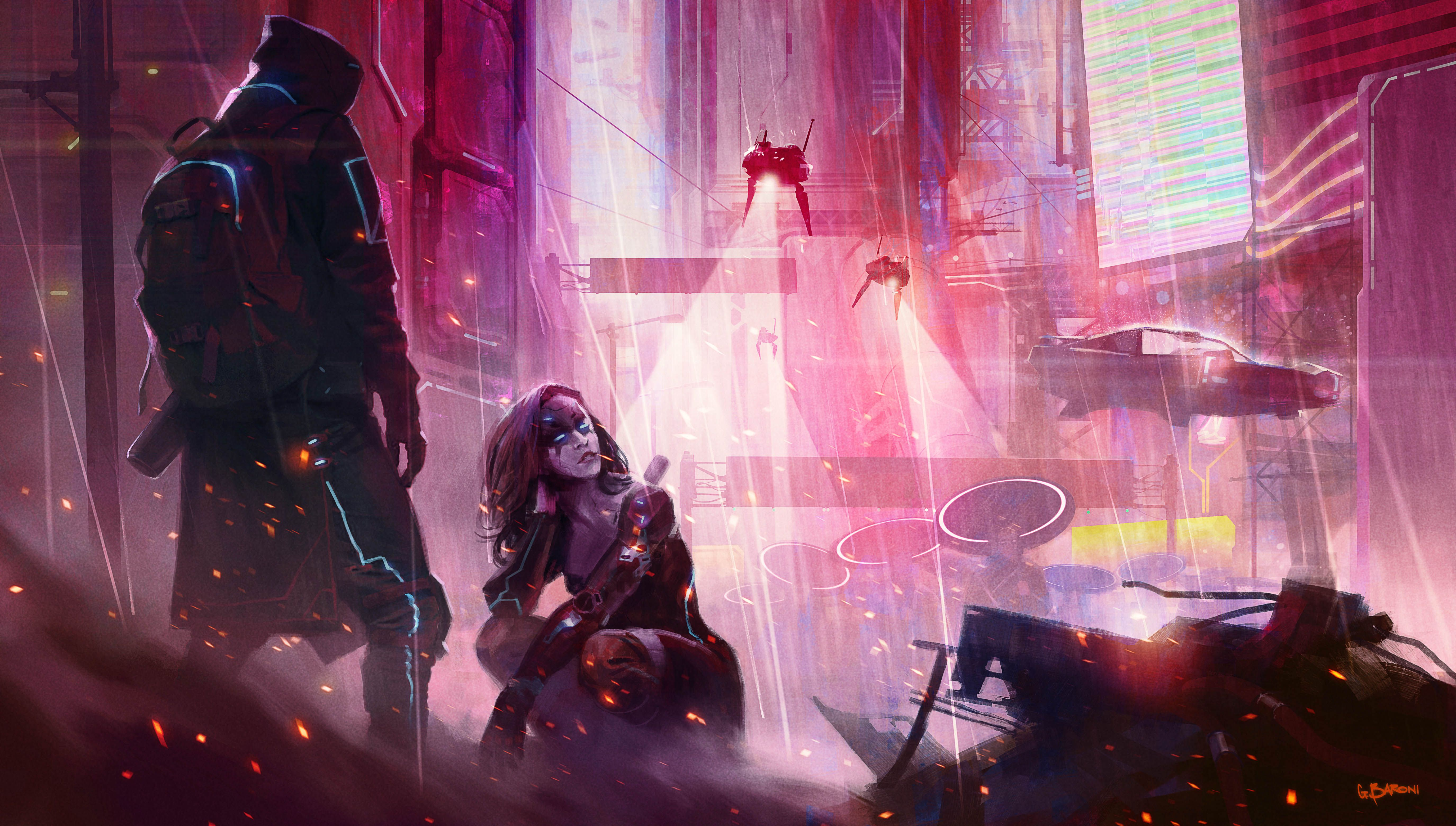 New cyberpunk gridbased RPG game Conglomerate451 has