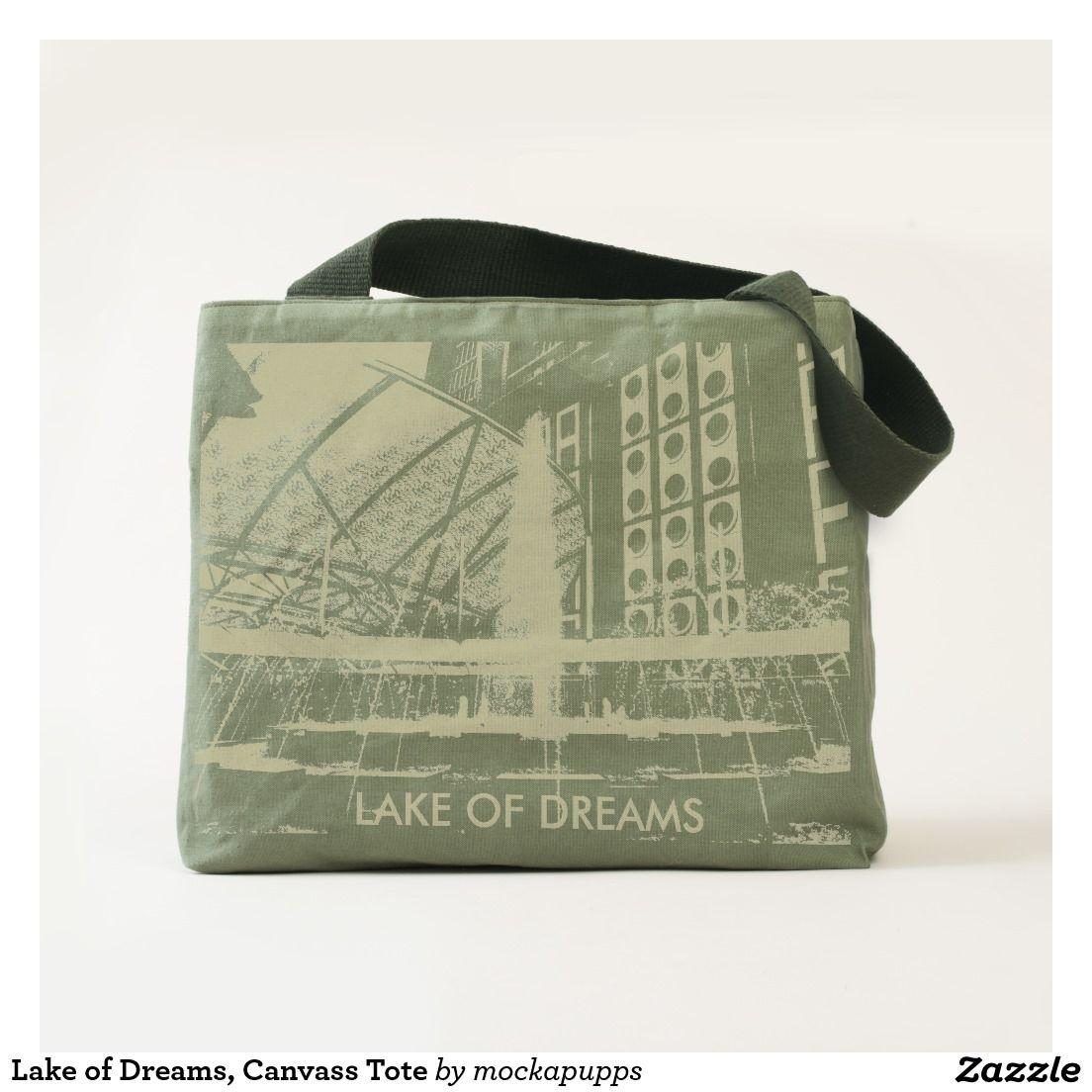 Lake of Dreams, Canvass Tote