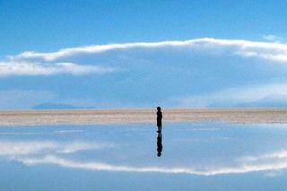 Salar de Uyuni - The largest salt flat in the world