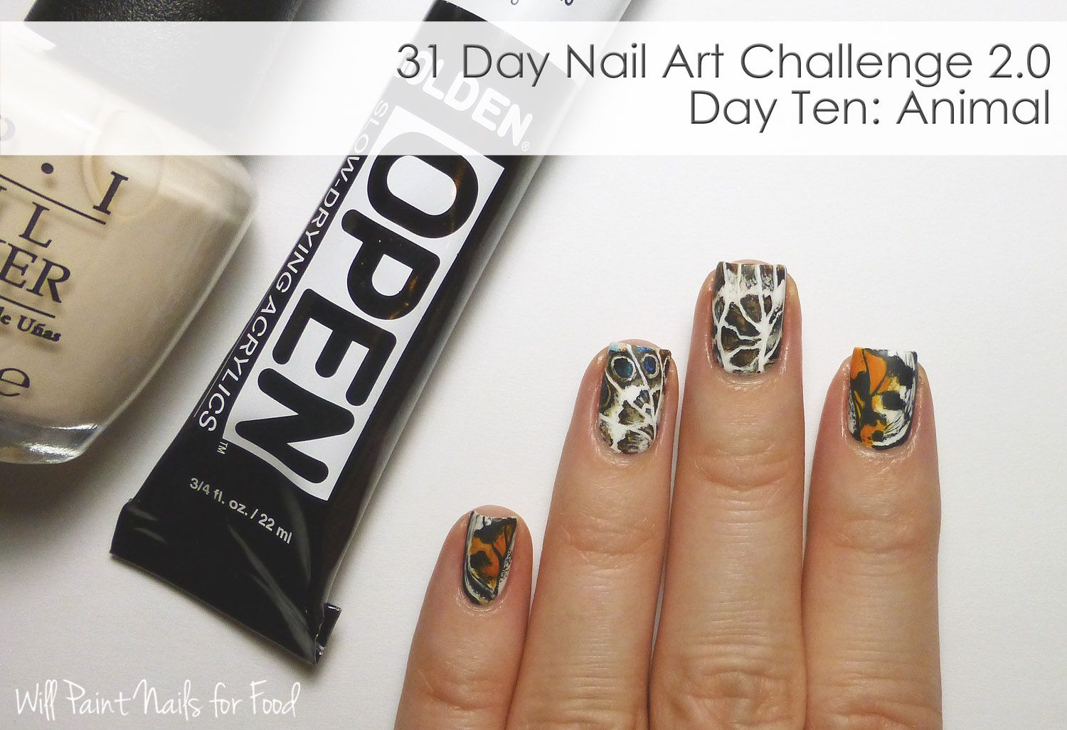 Hi everyone! Im very behind on the 31 Day Nail Art Challenge 2.0 that Im doing with The Nail...