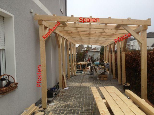 Fußboden Carport Selber Bauen ~ Bildergebnis für schrauben carport an wand winter garden ideas