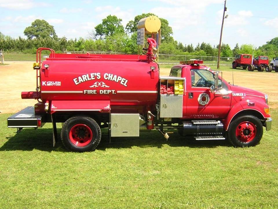 Earle S Chapel Cherokee County Fire Trucks Fire Service Fire