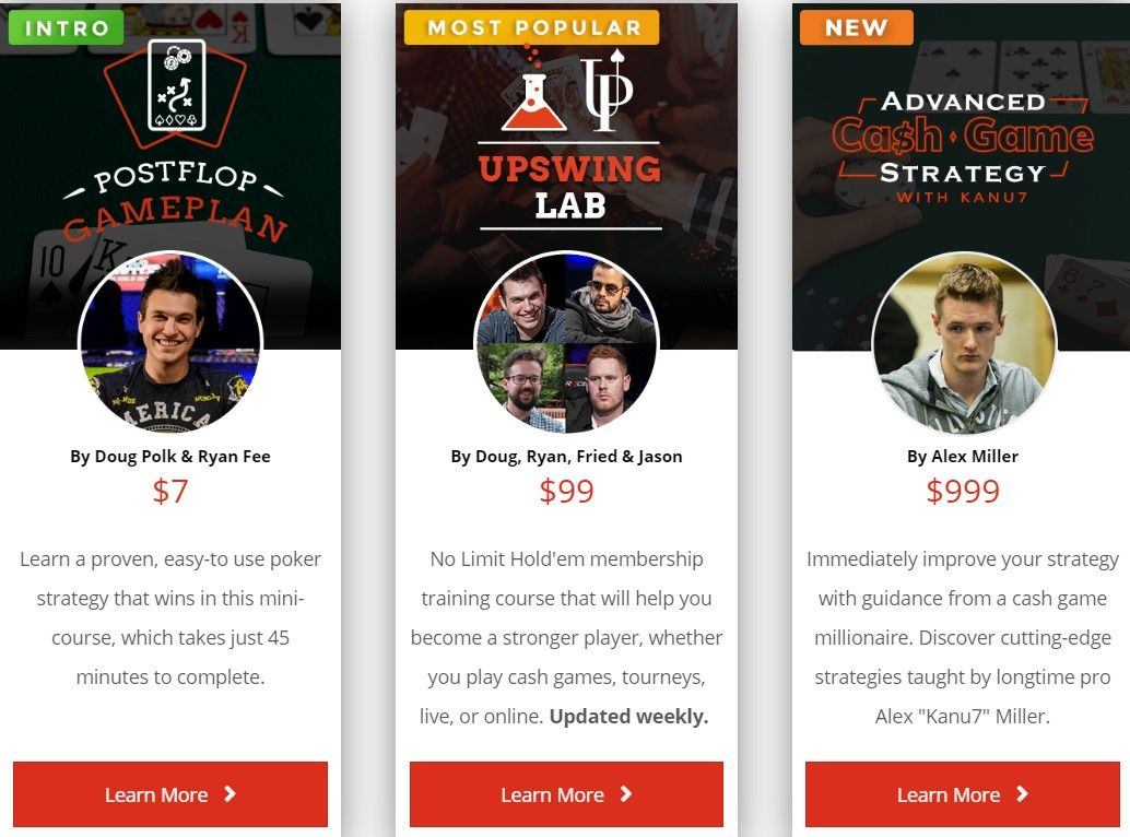 Poker Training Courses & Tools in 2020 Poker, Learning