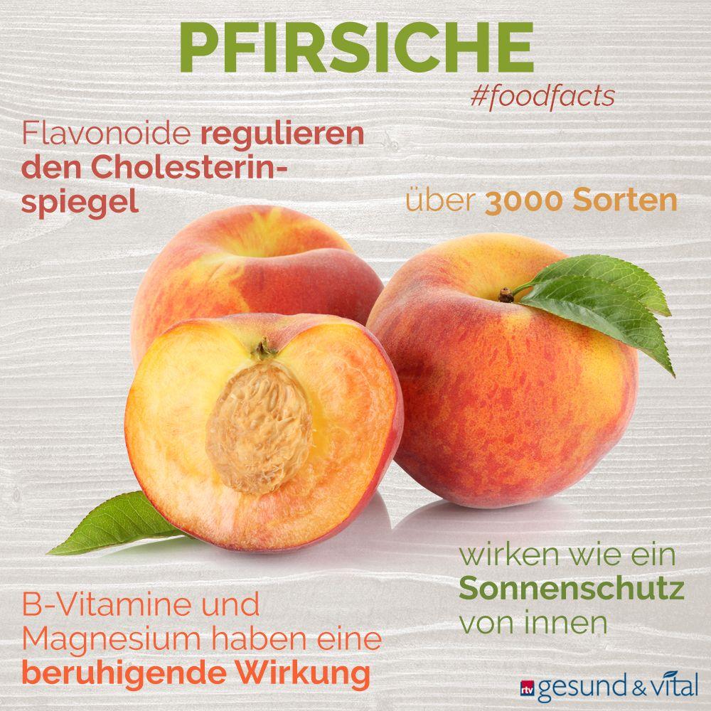 Pfirsiche: Süße Früchte mit Verjüngungseffekt