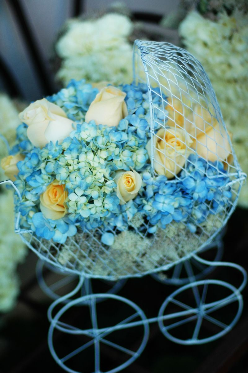 Baby Carriage Flower Arrangements Google Search Baby