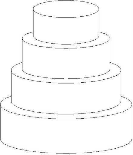 kleurplaat lege taart kleurplaat lege taart kleurplatenl