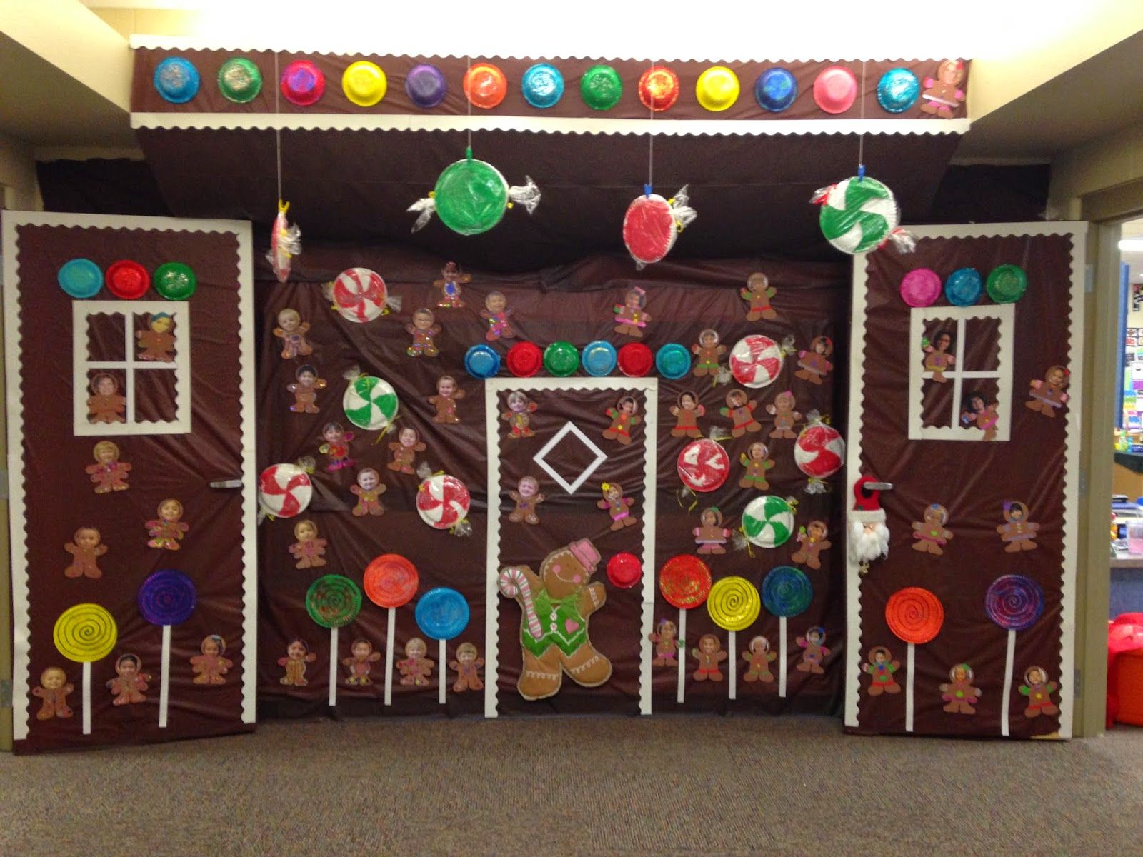 Office Christmas Decorations Gingerbread Theme ...