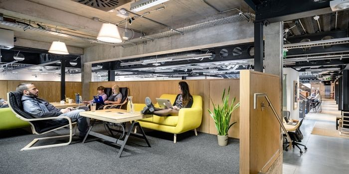 office tour airbnb offices dublin architects office spaces and