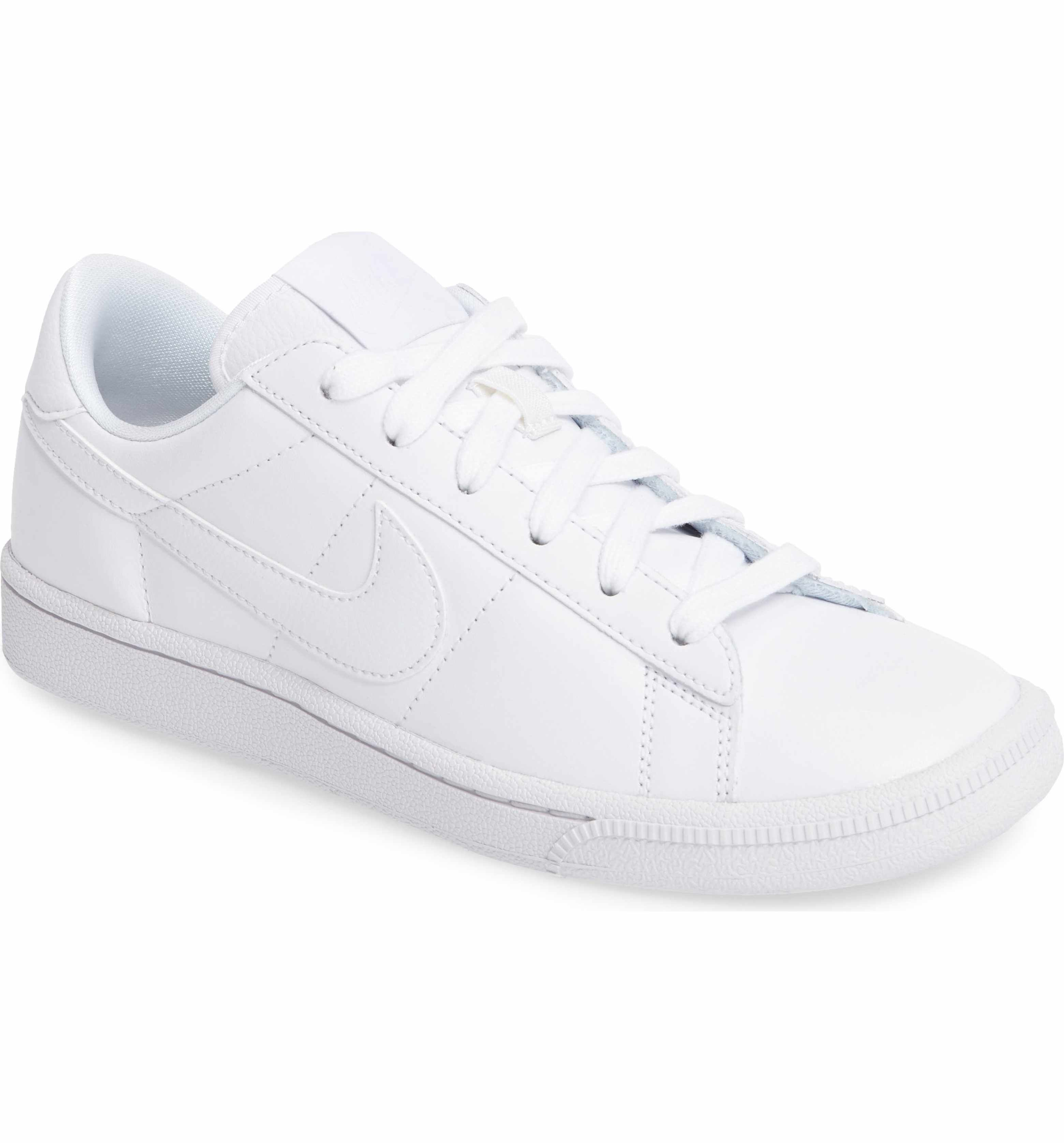 Main Image Nike Tennis Classic Sneaker Women White Leather Tennis Shoes Classic Sneakers White Sneakers Women