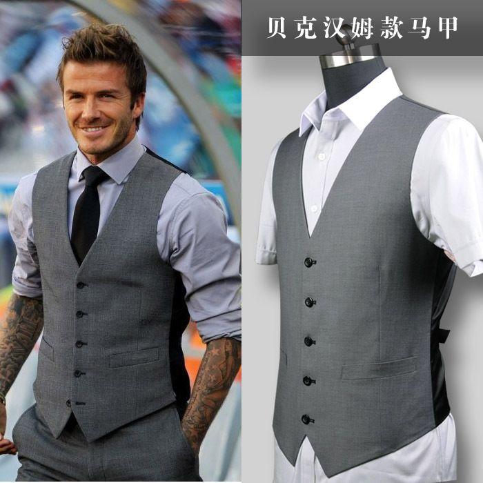 Beckham series of men\'s leisure suit Vests wedding high-end party ...