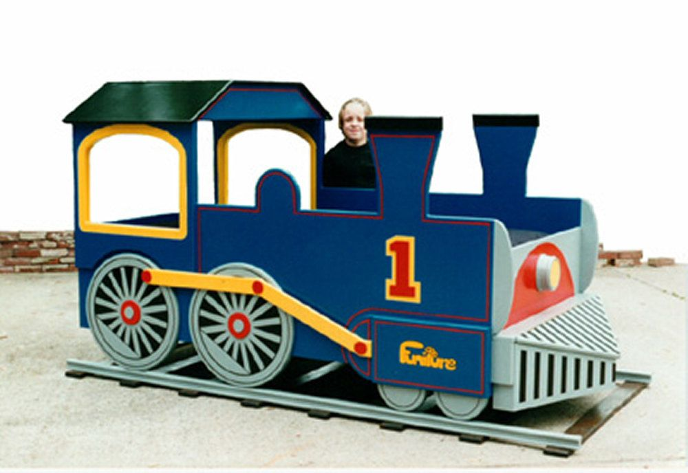 Train Bed Woodworking Plan (Twin Size) | For our little