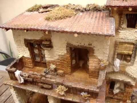 1107 Pesebre tipo casa para figuras de 1012 cm