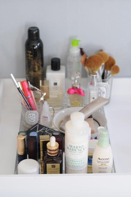 Perfect makeup organization!
