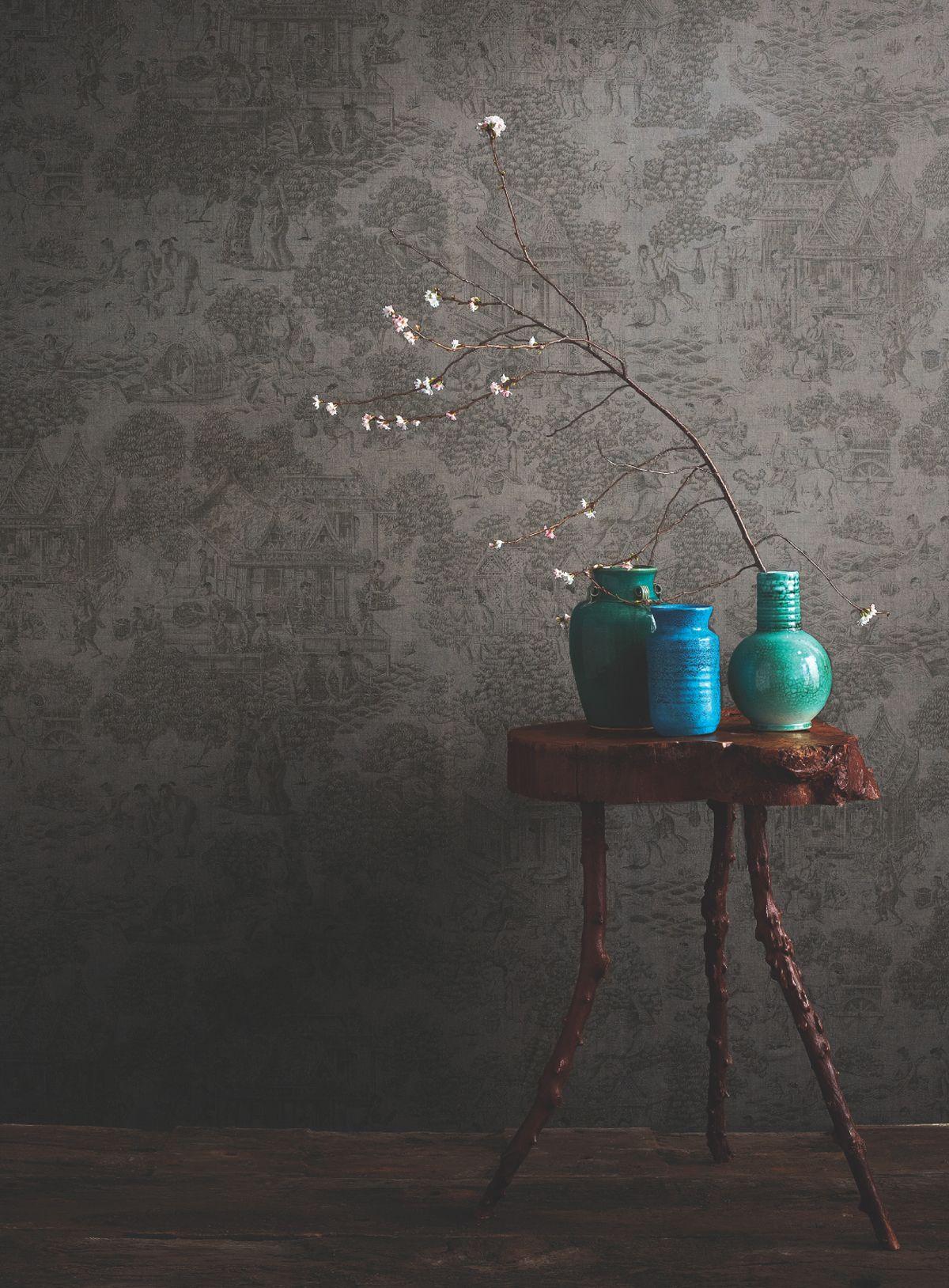 "Jim's Dream Wallpaper ""House on the Klong"" – finalist for the 2012 Best of Year Awards | JIM THOMPSON FABRICS BLOG"