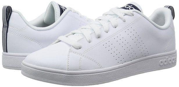 Adidas neo Herren ventaja limpiar vs sneakers, Weiß (ftwr blanco / ftwr