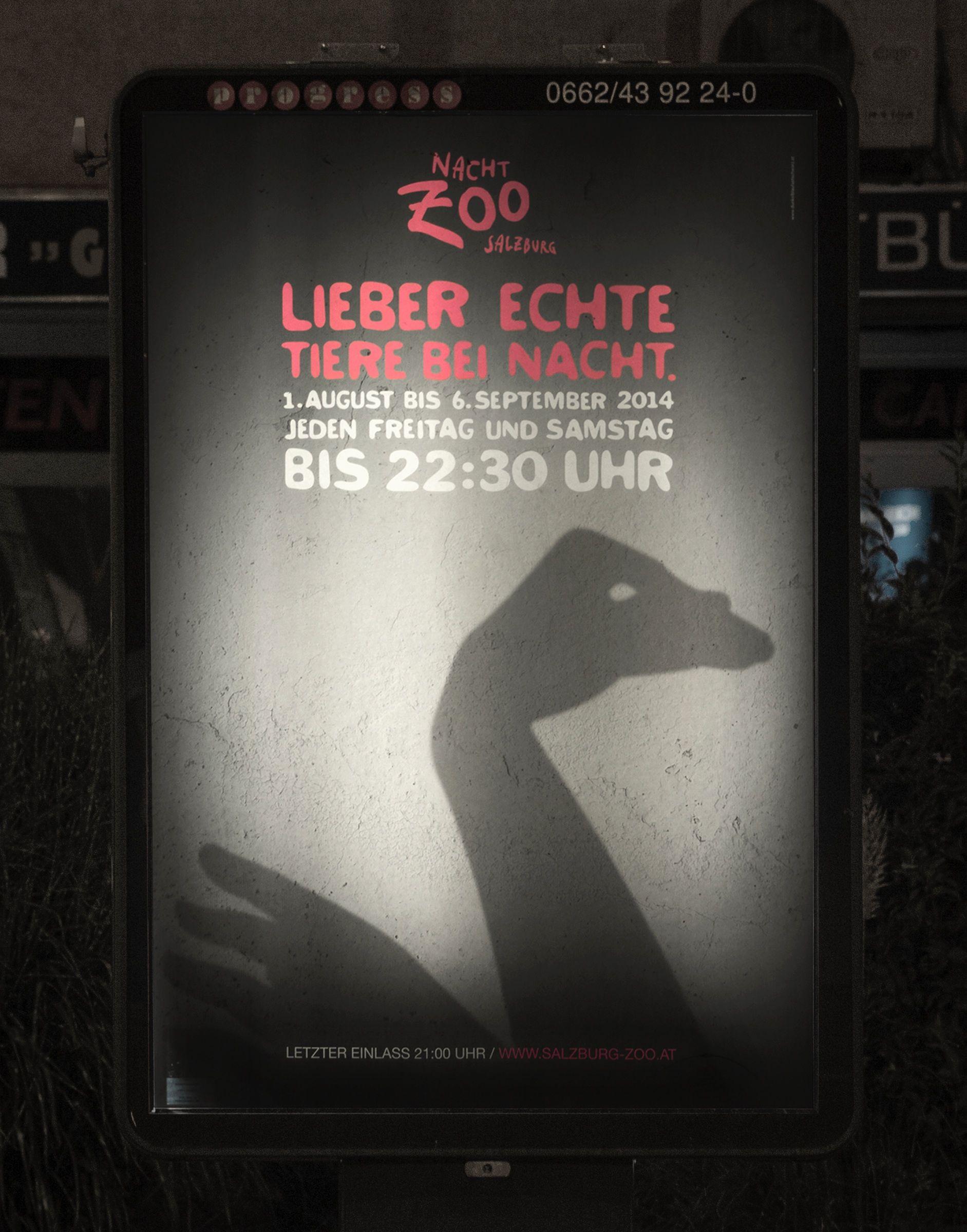 [3/4] Esta serie de gráficas del Zoo buscan invitar a las personas a visitar sus animales. La #solucion representar a animales con gestos y mímicas.