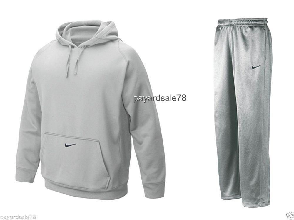 272a0457d800 MEN S SIZE 4XL XXXXL NIKE SWEATSUIT HOODIE SWEATPANTS THERMA-FIT FLEECE  TECH NEW  Nike  Hoodie