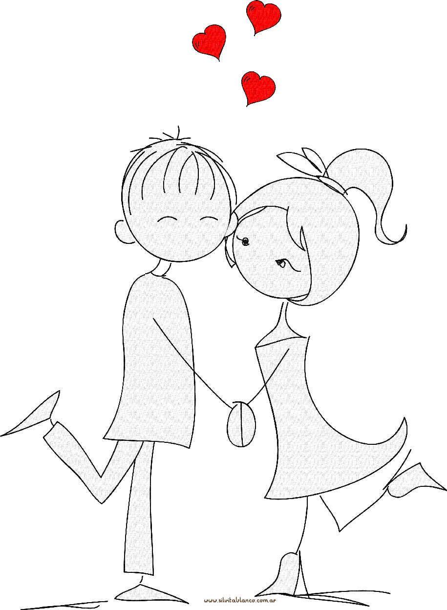 muecos Palito san valentn  dibujos amor  Pinterest