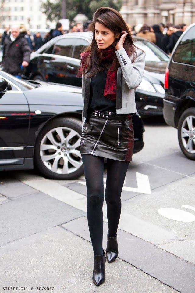 streetstyleseconds, #businesslook #sexy #biker #details | Leather ...