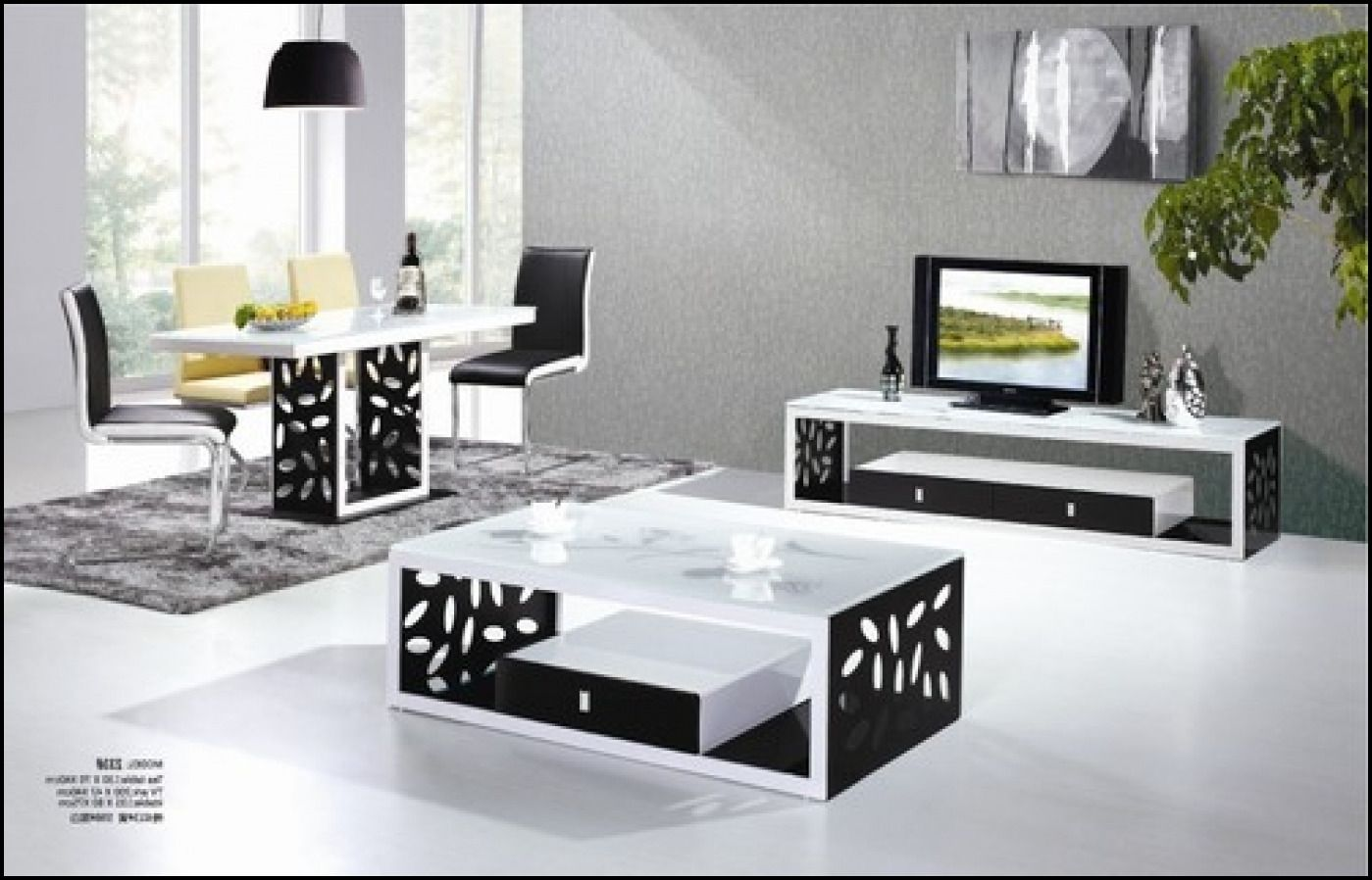 Tv Stand And Coffee Table Set   Tv Stand And Coffee Table Set,black Tv