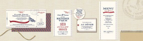 First Class Wedding Invitation – boarding ticket for destination weddings