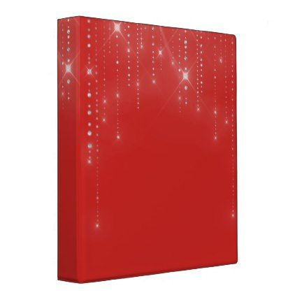 Superb Elegant Sparkle Office Binder   Girly Gift Gifts Ideas Cyo Diy Special  Unique