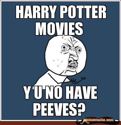 Seriously...this always bugs me. Especially if I find someone who claims to LOVE HP, but then have no idea who he is when I say something about him....